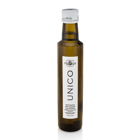 """Unico""  white truffle olive oil 250ml - Urbani Truffles"