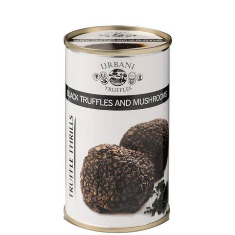 Black Truffles and Mushrooms 6.1oz (180gr) - Urbani Truffles