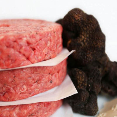 Urbani Truffles Pat LaFrieda Burger 4 patties, 6oz each (1.5 lbs) - Urbani Truffles