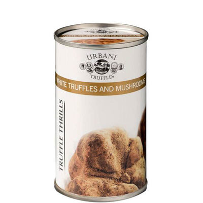 White Truffles and Mushrooms 6.1oz (180gr) - Urbani Truffles