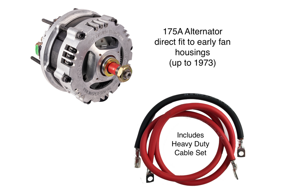 porsche alternator wiring porsche 911 high output 175a alternator kit  1964 1973 porsche 928 alternator wiring porsche 911 high output 175a alternator