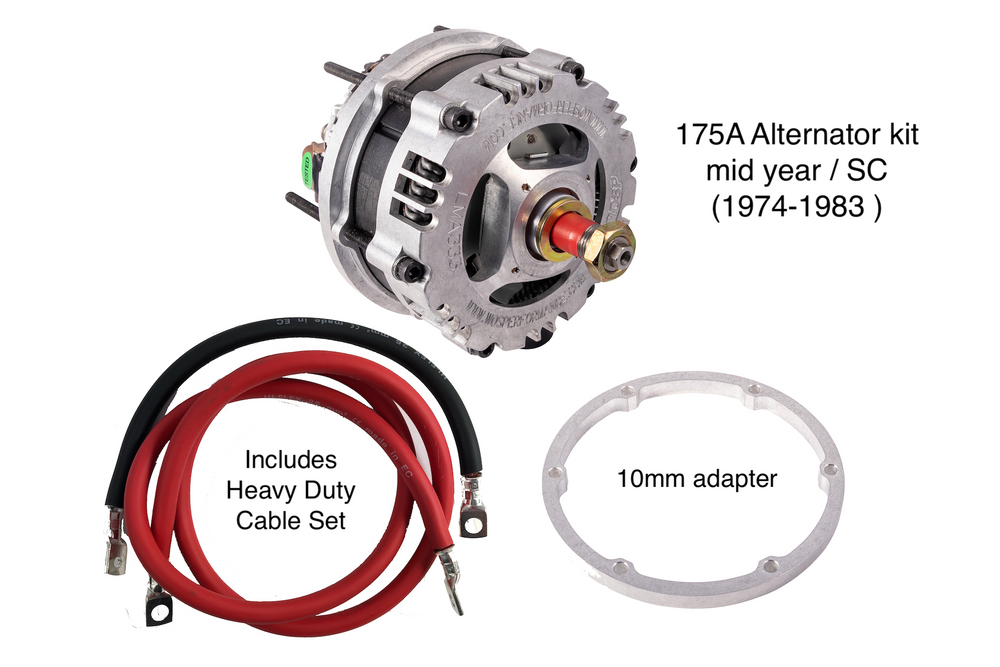 porsche alternator wiring porsche 911 high output 175a alternator kit  1974 1983      classic porsche 928 alternator wiring porsche 911 high output 175a alternator