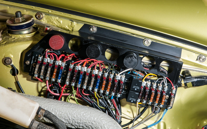 911 Front Fuse Panel 1974 - 1989