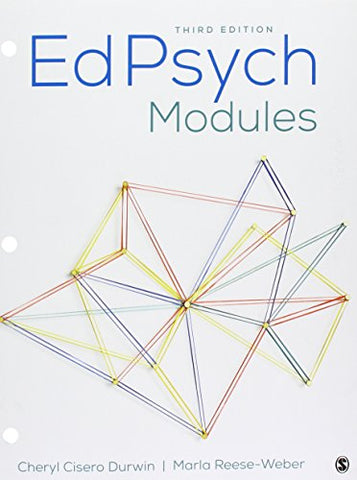 Bundle: Durwin: Edpsych Modules 3E (Loose Leaf) + Durwin: Edpsych Modules Interactive Ebook 3E