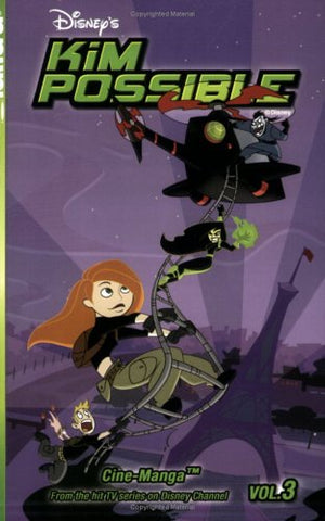 Kim Possible Cine-Manga, Vol. 3: The New Ron & Amp Mind Games (Kim Possible (Graphic Novels))