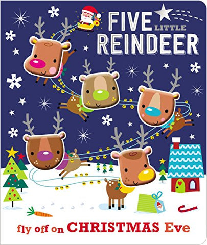Board Book Five Little Reindeer
