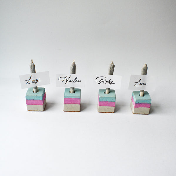 Cone Holder Cubes - Mix & Match - Set of Four