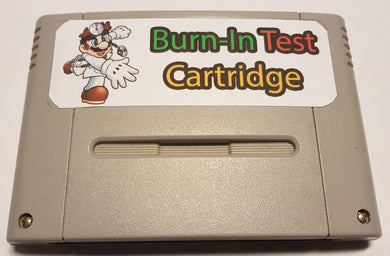 Super Nintendo - Cartouche Burn-In Test