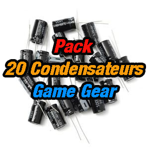 Game Gear - Pack 20 Condensateurs Game Gear