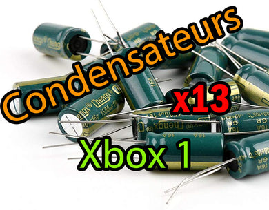 Xbox 1 - Pack 13 Condensateurs