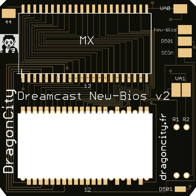 Dreamcast - PCB New-Bios