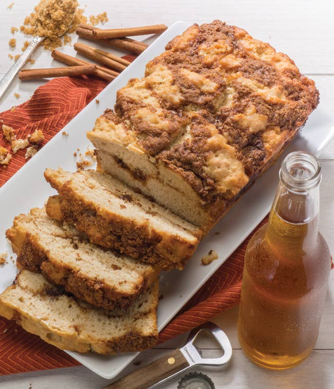 Gluten Free Cinnamon Crumble Premium Beer Bread Mix