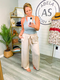 One Way or Another Wide Leg Pants