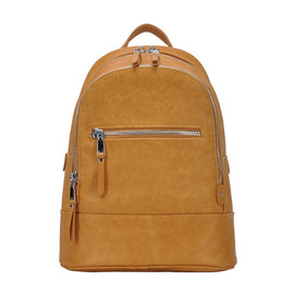 Bailey Tan Leather Backpack