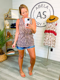 Style a Little Wild Animal Print Top