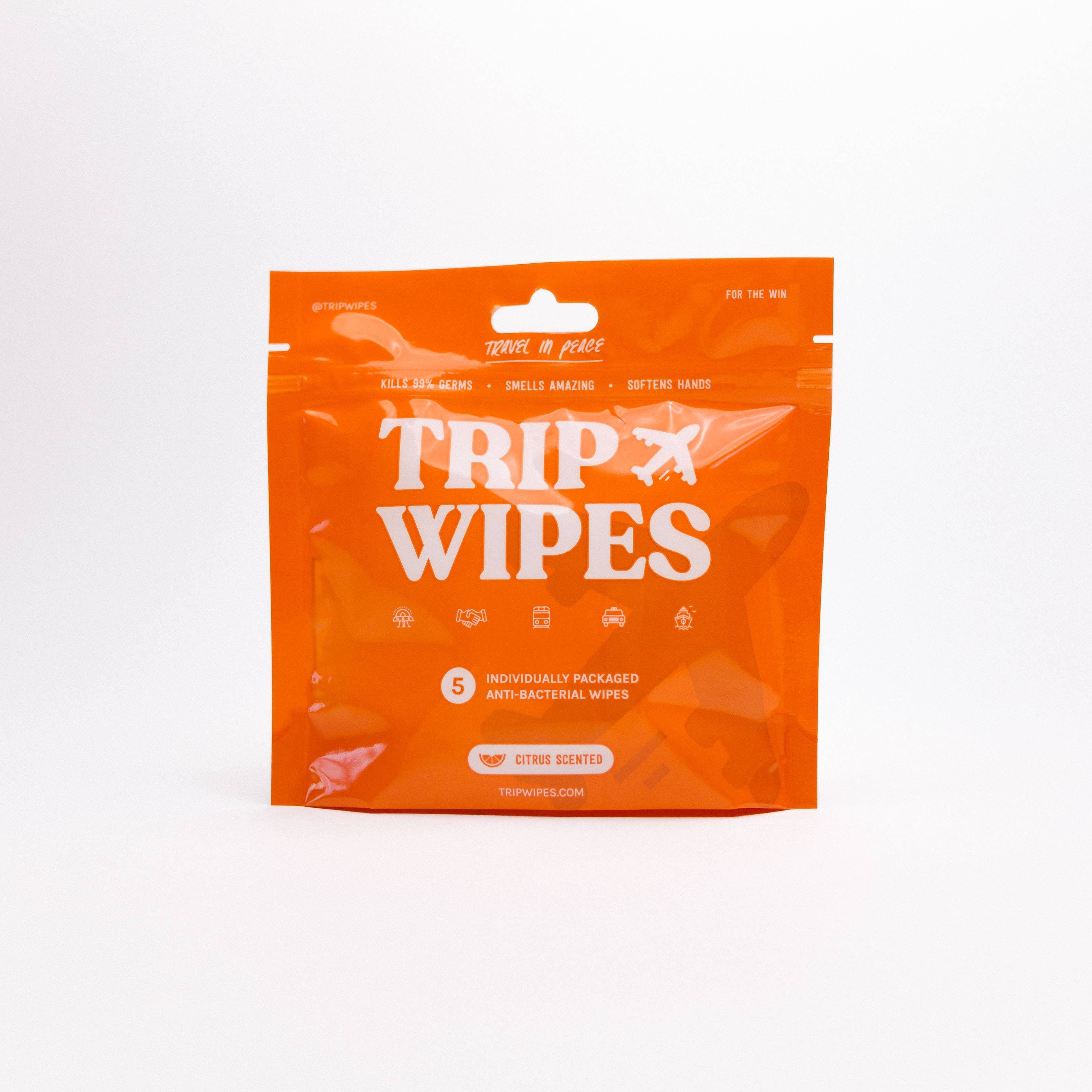 Travel Pouch Wipes