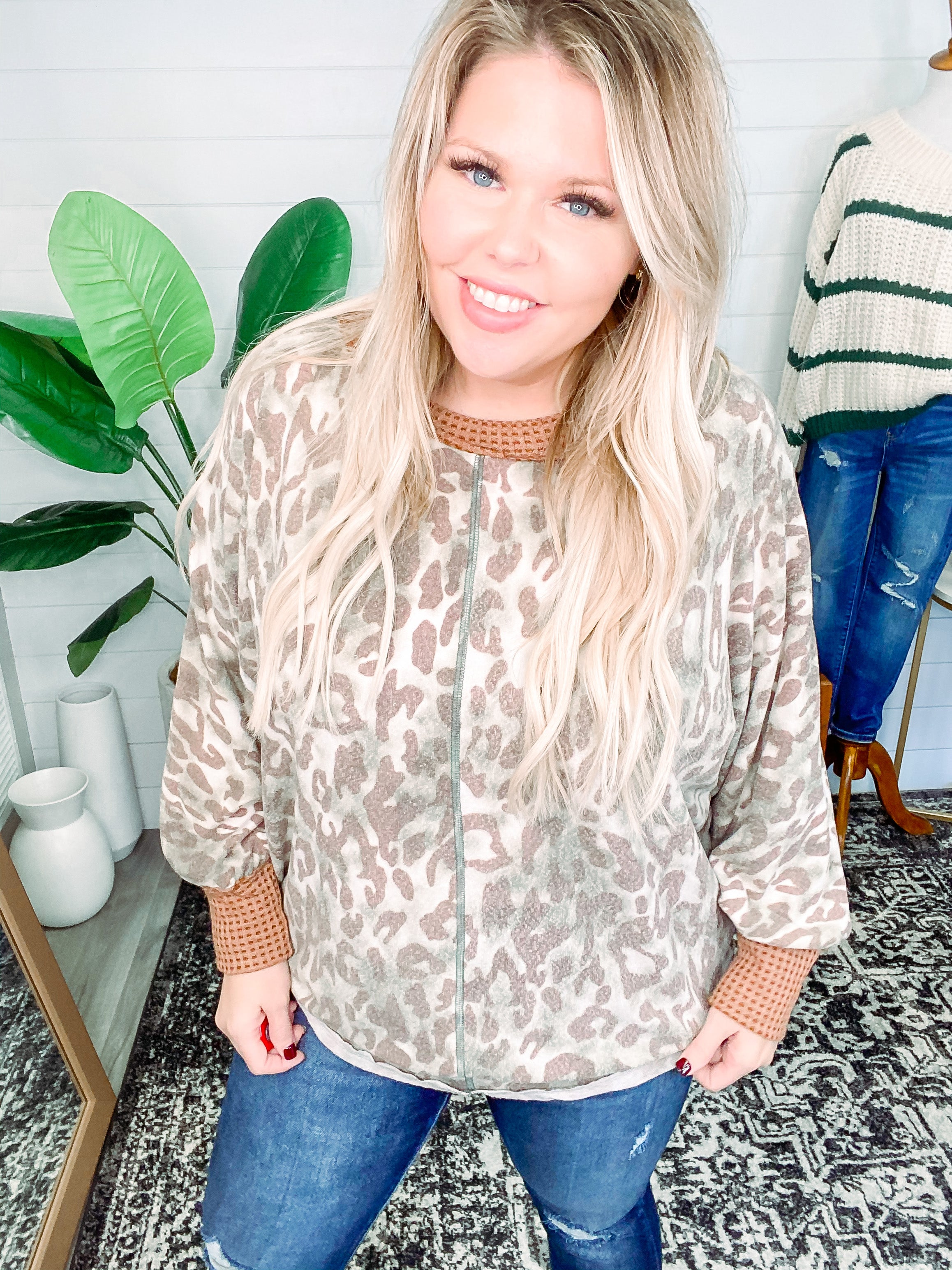 New Type of Wild Animal Print Top