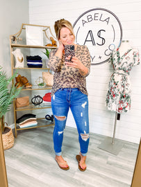 Lucky All Around High Rise Distressed Jeans