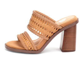 Cailee Braided Strappy Heels - Almond