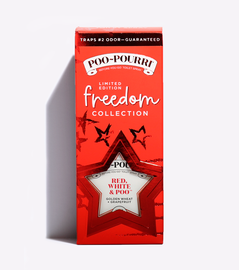 Red, White and POO Poopourri