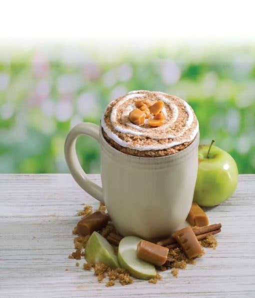 Caramel Apple Cinnamon Muffin Microwave Single