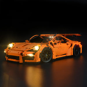 Briksmax Light Kit For Lego Porsche 911 GT3 RS 42056