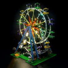 Load image into Gallery viewer, Briksmax Light Kit For Lego Creator City Street Ferris Wheel Model 10247
