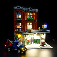 Load image into Gallery viewer, Briksmax Light Kit For Lego Corner Garage 10264