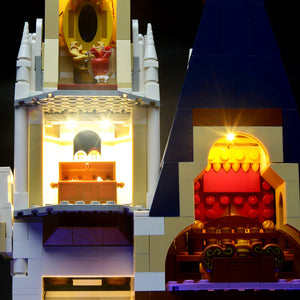 Briksmax Light Kit For Lego Cinderella Princess Castle 71040