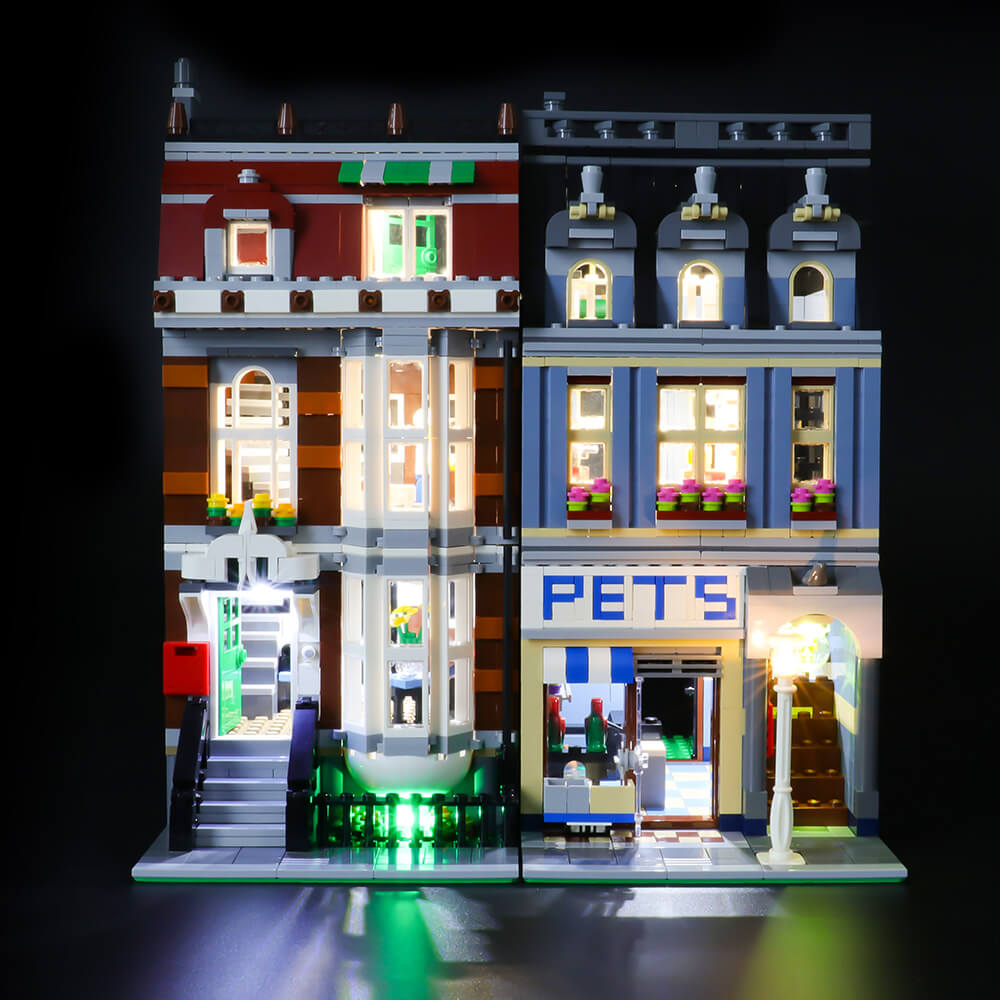 Briksmax Light Kit For Lego Pet Shop 10218