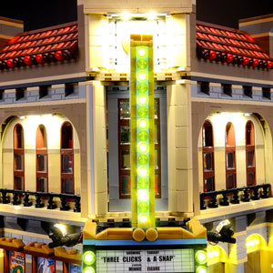 Briksmax Light Kit For Lego Palace Cinema 10232