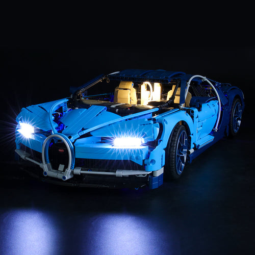 Briksmax Light Kit For Lego Bugatti Chiron 42083