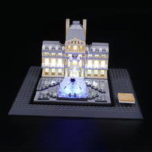 Load image into Gallery viewer, Briksmax Light Kit For Lego Louvre 21024