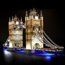 Load image into Gallery viewer, Briksmax Light Kit For Lego London Tower Bridge 10214