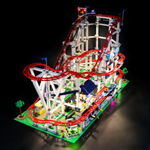 Load image into Gallery viewer, Briksmax Light Kit For Lego Roller Coaster 10261