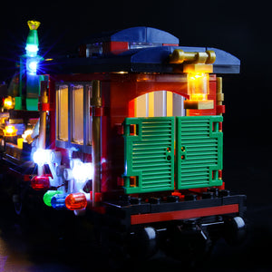 Briksmax Light Kit For Lego Winter Holiday Train 10254
