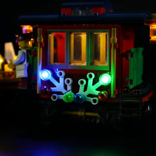 Load image into Gallery viewer, Briksmax Light Kit For Lego Winter Holiday Train 10254