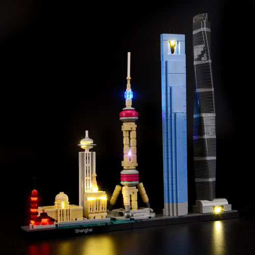 Briksmax Light Kit For Lego Shanghai 21039