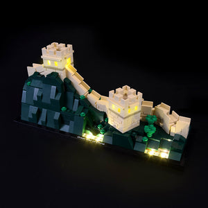 Briksmax Light Kit For Lego Great Wall of China 21041