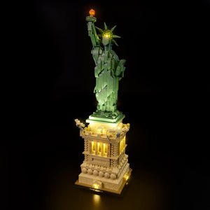 Briksmax Light Kit For Lego Statue of Liberty 21042