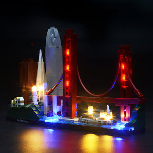 Briksmax Light Kit For Lego San Francisco 21043