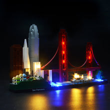 Load image into Gallery viewer, Briksmax Light Kit For Lego San Francisco 21043