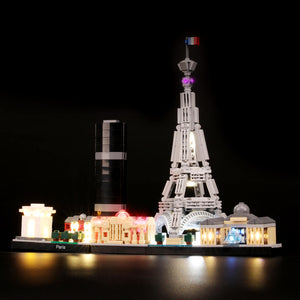Briksmax Light Kit For Lego Paris 21044