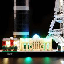 Load image into Gallery viewer, Briksmax Light Kit For Lego Paris 21044