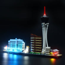 Load image into Gallery viewer, Briksmax Light Kit For Lego Las Vegas 21047