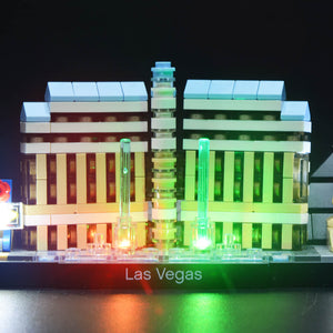 Briksmax Light Kit For Lego Las Vegas 21047