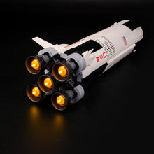 Load image into Gallery viewer, Briksmax Light Kit For Lego NASA Apollo Saturn V 21309