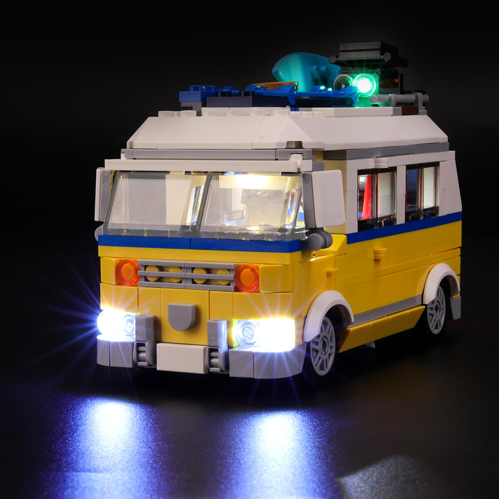 Briksmax Light Kit For Lego 3in1 Sunshine Surfer Van 31079