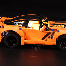 Load image into Gallery viewer, Briksmax Light Kit For Lego Chevrolet Corvette ZR1 42093