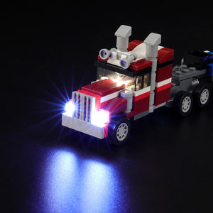 Briksmax Light Kit For Lego 3in1 Shuttle Transporter 31091